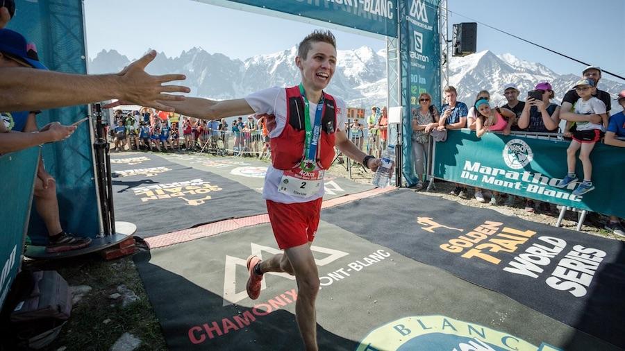L'Italien Davide Magnini a remporté à 22 ans le Marathon du Mont-Blanc 2019
