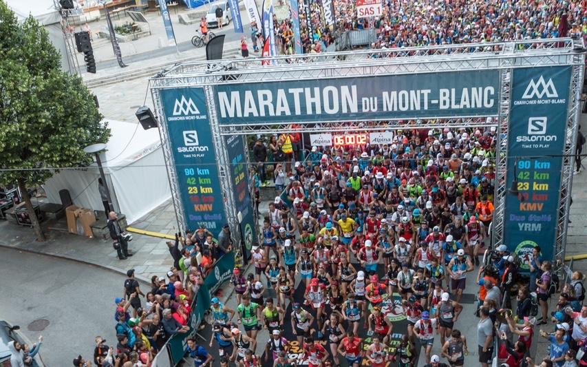Le Marathon du Mont-Blanc est l'un des événements de trail les plus populaires de la planète