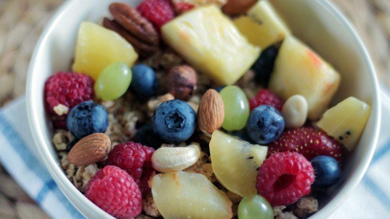 céréales fruits