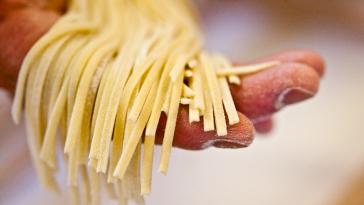 pâtes glucides