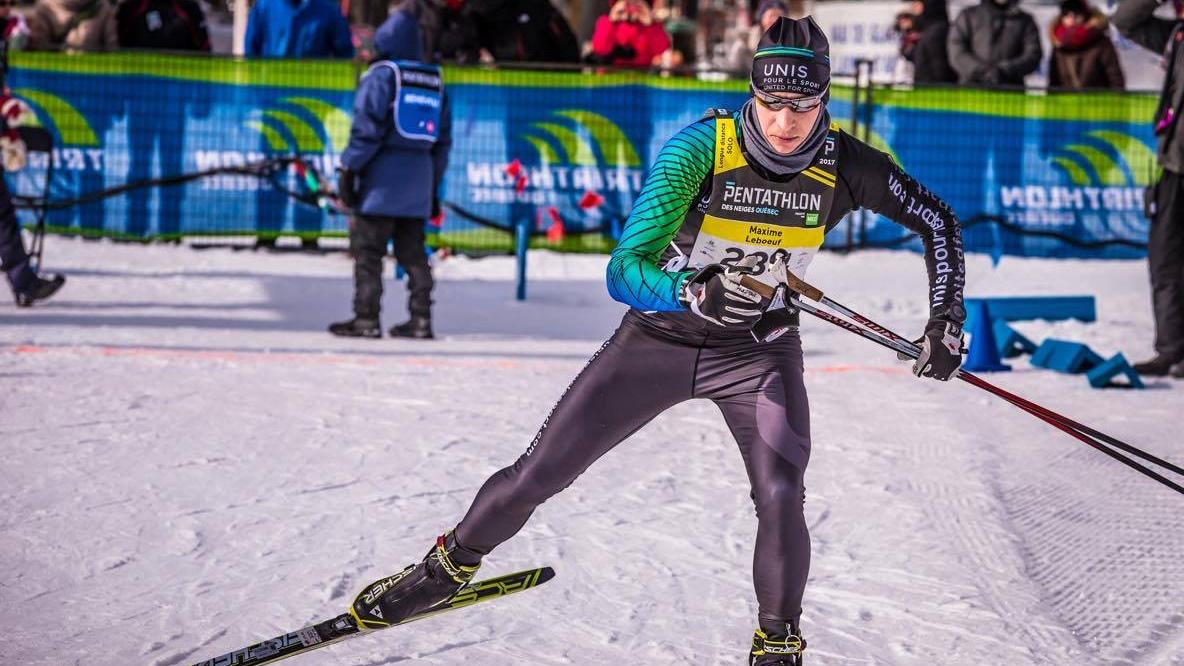 Maxime Leboeuf ski