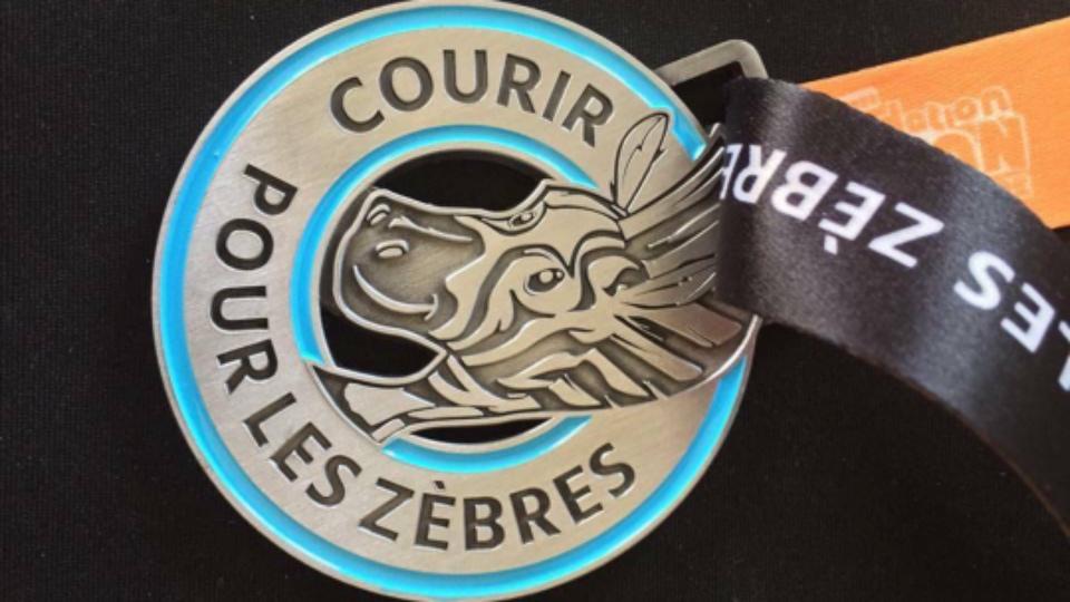 médaille Zèbres