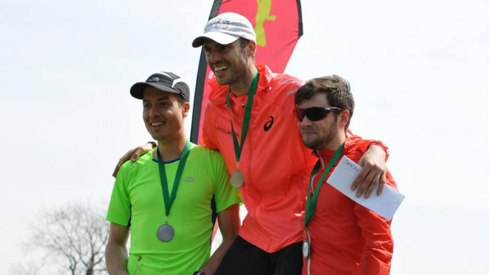 Les vainqueurs de l'édition 2014: David Le Porho, Jeff Gosselin et Raphaël Payo - Photo: Courtoisie