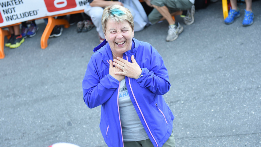 La directrice de l'Ultra-Trail du Mont-Blanc, Catherine Poletti - Photo : Michel Cottin / UTMB