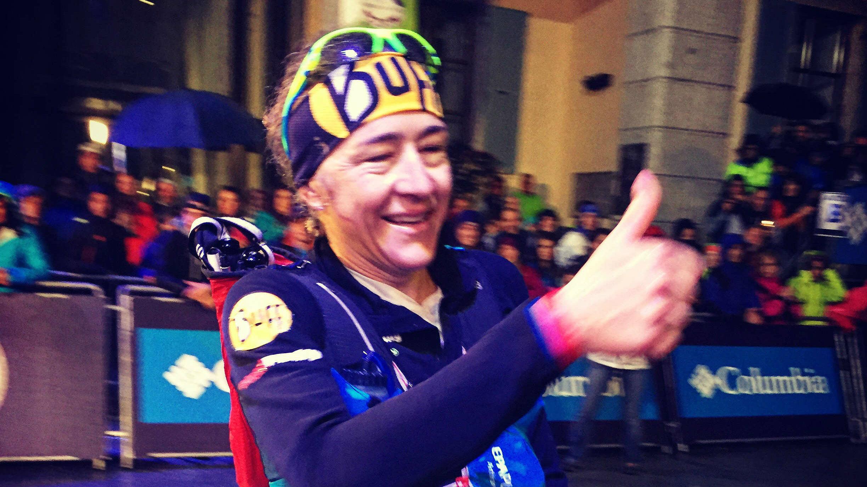 L'Espagnole NuriaPicas décroche sa première victoire à l'UTMB - Photo : Nicolas Fréret