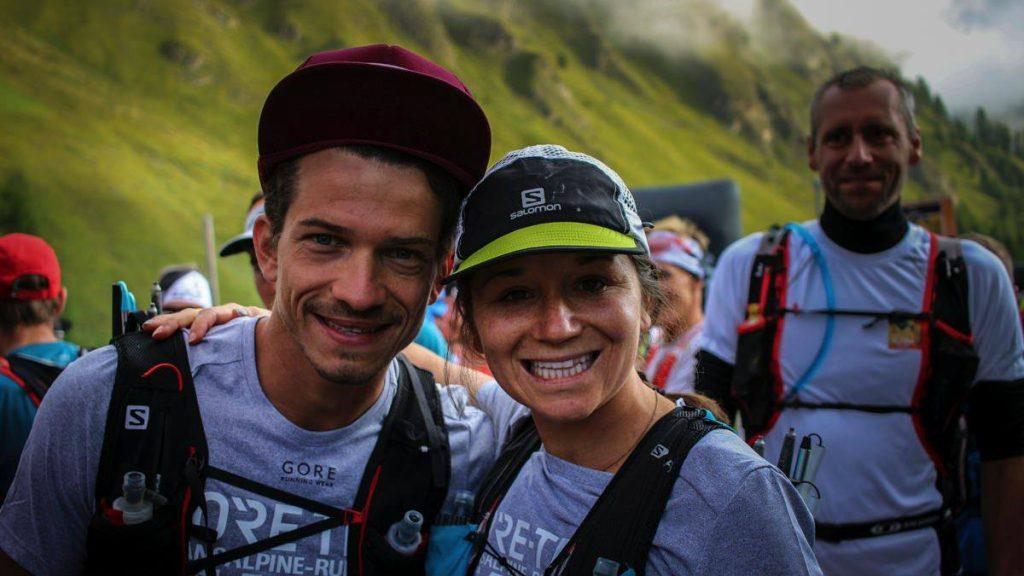 Marianne Hogan a remporté la Transalpine Run avec Mathieu Blanchard en 2017 - Photo Philipp_Reiter
