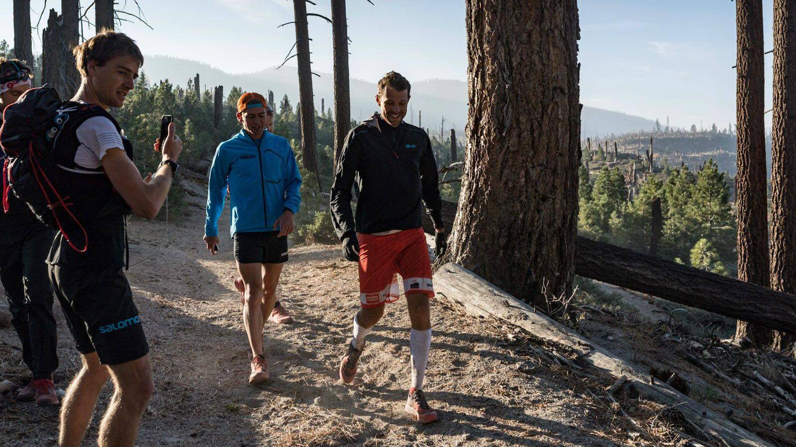 Tim Tollefson et François D'Haene / Photo: DROZ PHOTO pour Salomon Running
