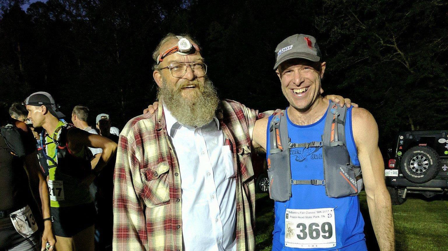 Mario Villemure (droite) avec Lazarus Lake - Photo: Courtoisie