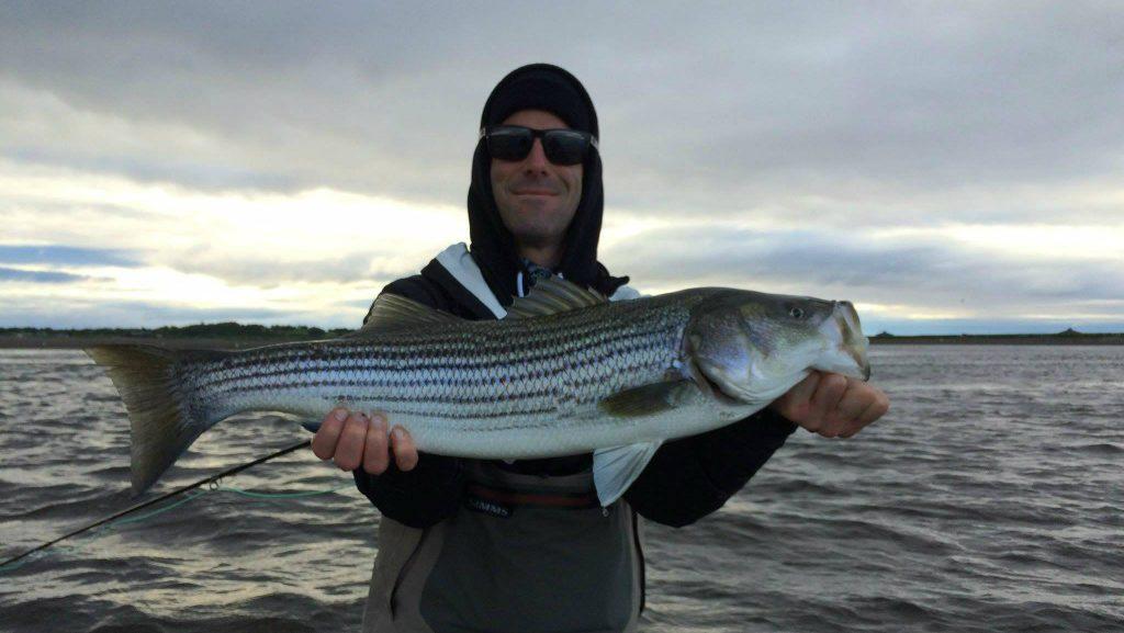 La première passion de Guillaume : la pêche - Photo : courtoisie