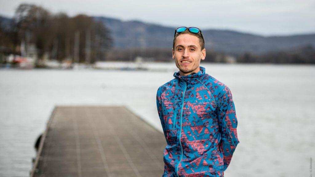 Benoît Girondel, vainqueur de l'édition 2017 de la Diagonale des fous