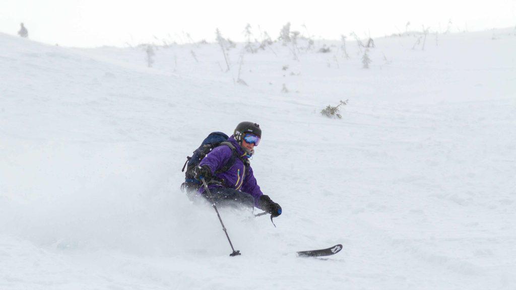 L'hiver, Elisabeth Cauchon multiplie les activités sportives / Photo : Team Cauchon