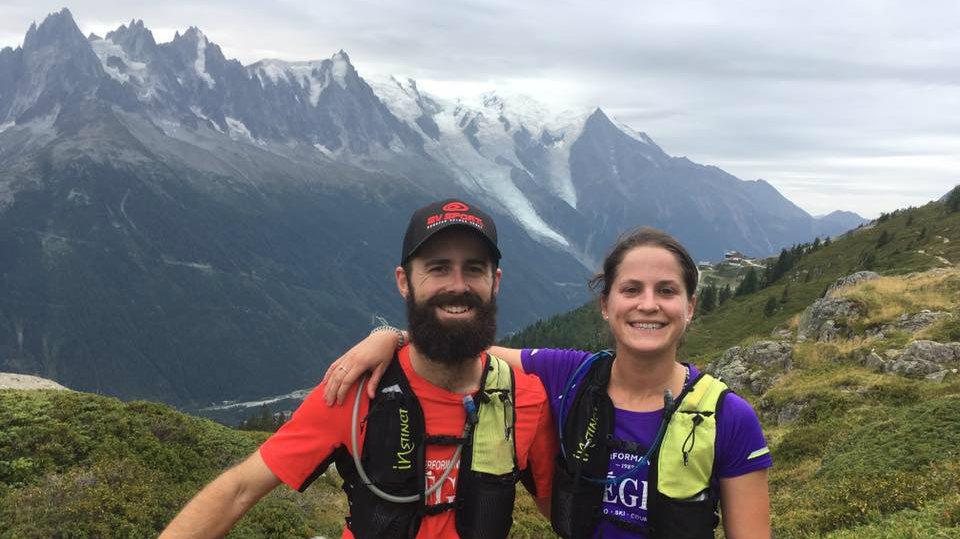 Le Team Cauchon à Chamonix (Mont Blanc) en août 2017 / Photo : Team Cauchon