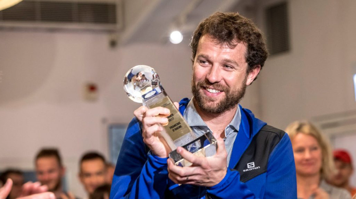 François D'Haene, champion UTWT 2017 - Photo : Demin Ma