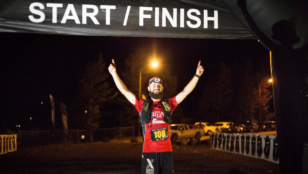 Jean-François Cauchon, vainqueur de la Sinister 7 en Alberta - Photo courtoisie