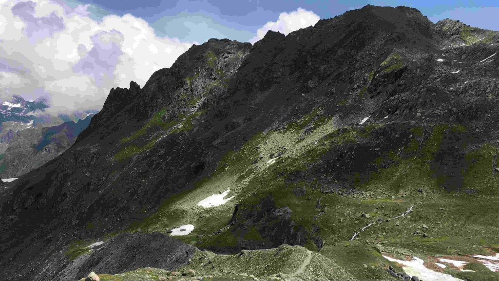 Sur le tracé du Trail du Verbier St-Bernard, dans les Alpes suisses - Photo courtoisie