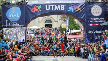 François D'Haene et Kilian Jornet à l'arrivée du mémorable UTMB 2017