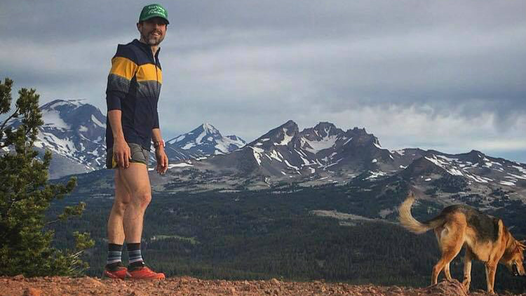 Colton Gale à Tumalo Mountain, en Oregon - Photo Facebook