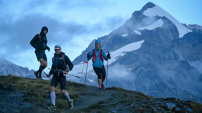 Sur l'UTMB 2018 - Photo : Pascal Tournaire / UTMB