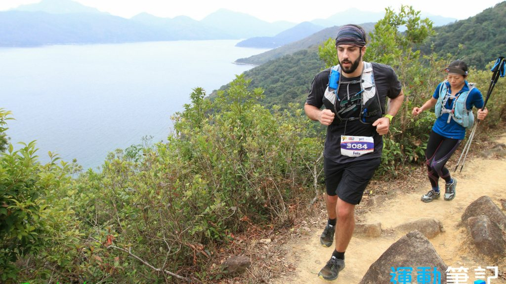 Félix Langelier lors du Hong Kong 100 - Photo : Running Biji