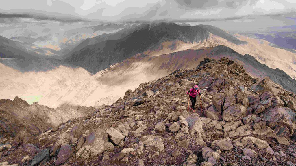 Les somptueux paysages arides du Haut Atlas - Photo: UTAT