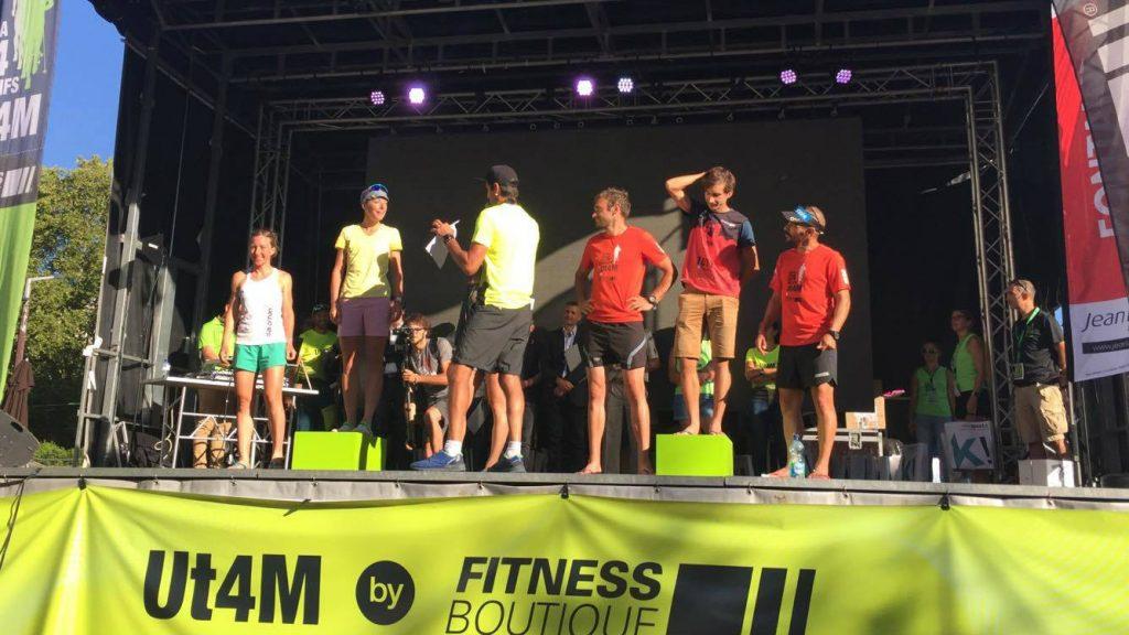 Annie Jean a monté sur le podium les quatre jours de la compétition. - Photo : courtoisie
