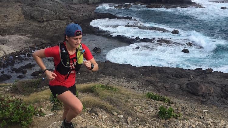 Élisabeth Cauchon en exploration à la Martinique - Photo : Team Cauchon