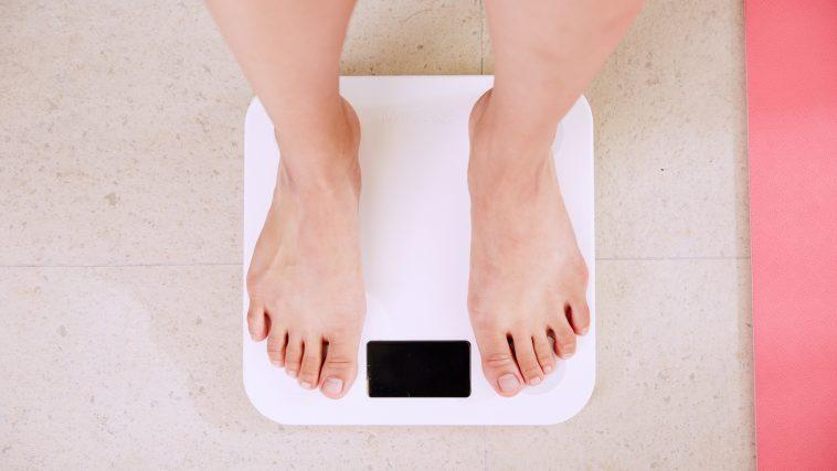 Balance poids, pieds