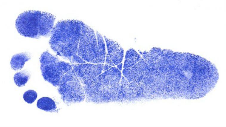 empreinte pied