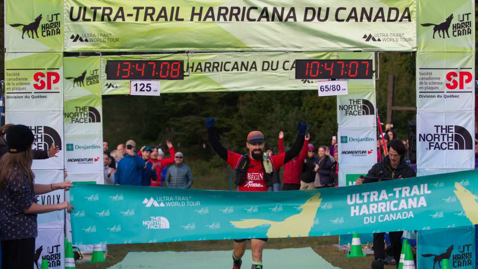 Jean-François Cauchon a remporté le nouveau parcours du 125km Harricana 2018 - Photo Team Cauchon