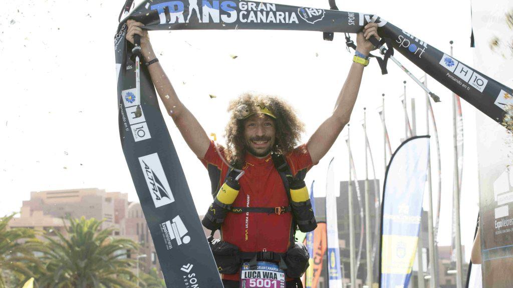Luca Papi a remporté la Trans 360 avant de prendre le départ de la Transgrancanaria - Photo : Transgrancanaria