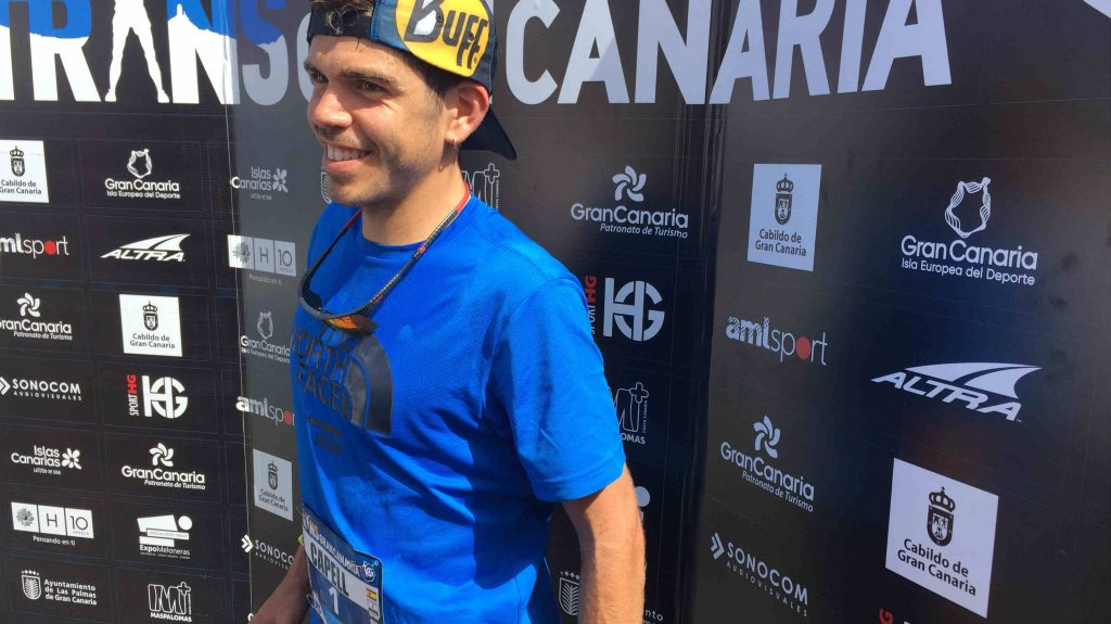 Pau Capell, triple vainqueur de la Transgrancanaria - Photo : Nicolas Fréret
