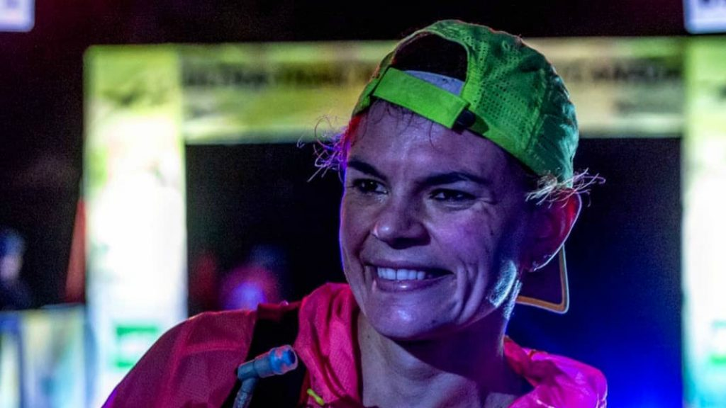 Sarah Verguet Moniz a remporté le 125 km de l'Ultra-Trail Harricana 2018 - Photo : UTHC