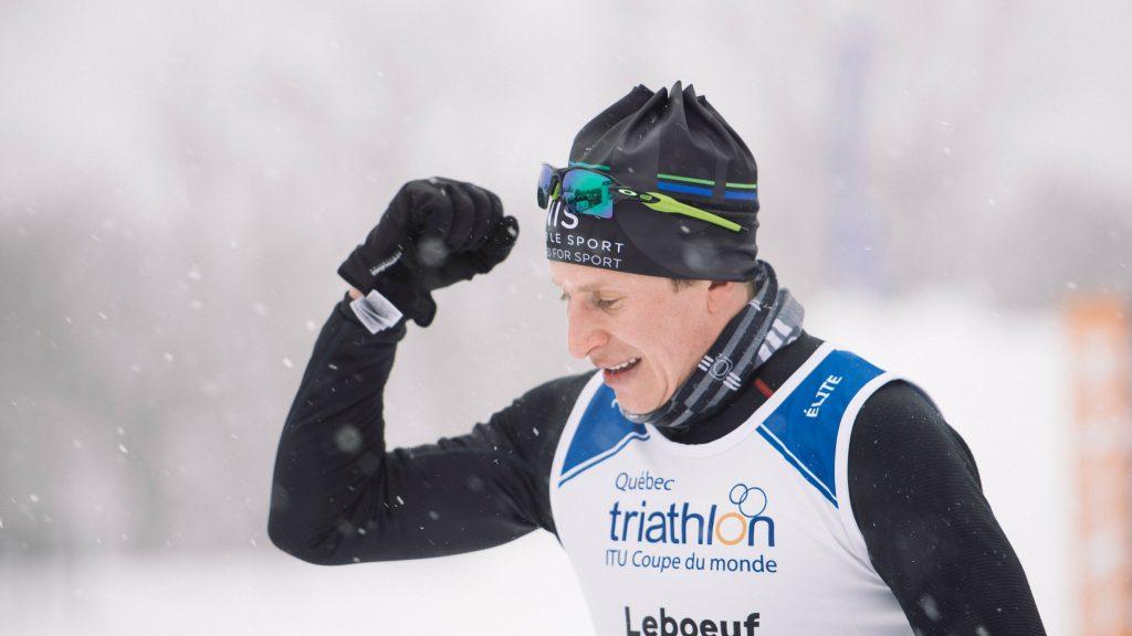 Maxime Leboeuf est un habitué des podiums du Pentathlon , où il a notamment gagné la Coupe du monde de triathlon et la longue distance en solo en 2018 - Photo : Groupe pentathlon