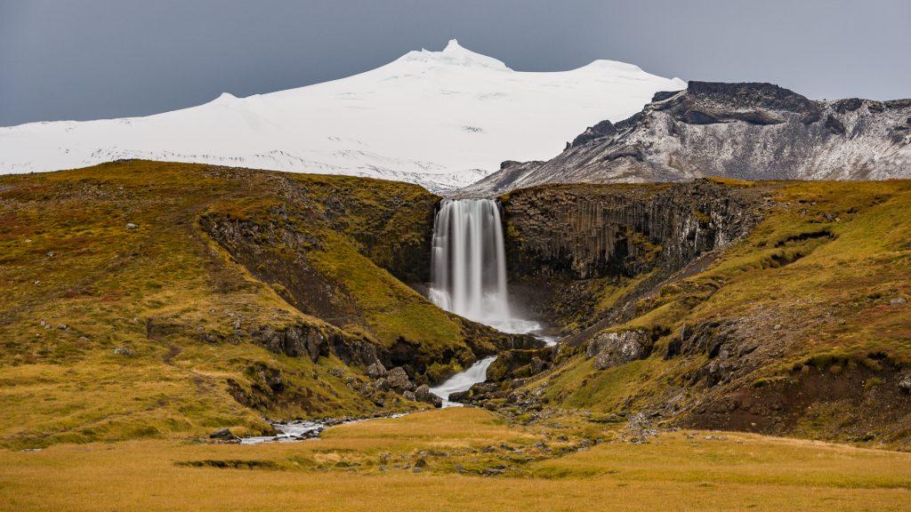 Svöðufoss est une des magnifiques cascades à découvrir sur la péninsule de Snæfellsnes. Photo: Christian Dionne
