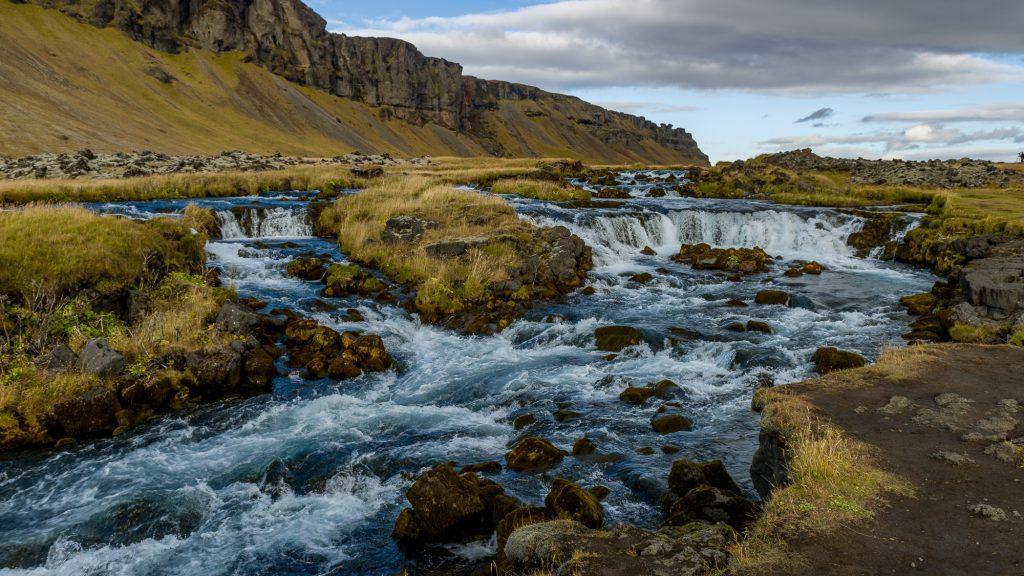 Magnifique paysage. La photo a été prise à douze kilomètres de Kálfafell, un hameau situé au sud-est de l'Islande.Photo: Christian Dionne