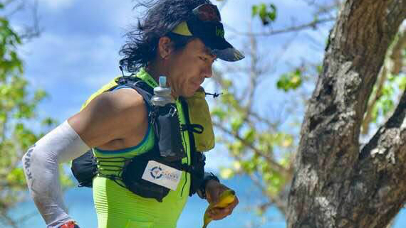 Sangé Sherpa a battu le record du 154 km en 26 h 06 min - Photo : TNBT