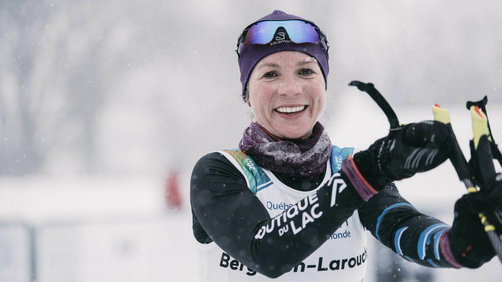 Sarah Bergeron-Larouche participe depuis plusieurs années au Pentathlon des neiges - Photo : Groupe Pentathlon