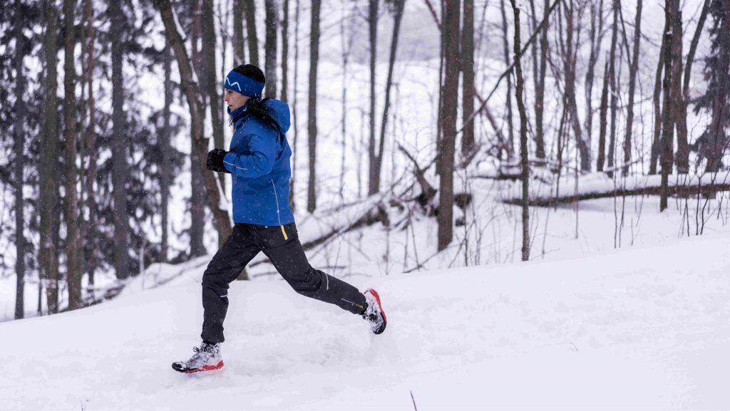 Rachel Sklar durant sa préparation hivernale - Photo : Arnaud Cailloux / UTWT
