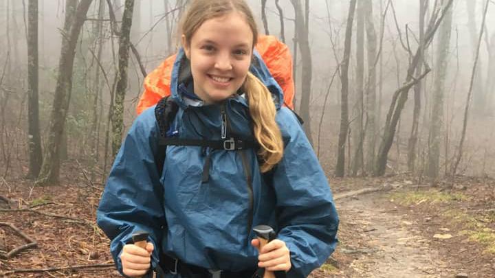 Charlotte, lors des premières semaines de son défi - Photo : Charlotte Huebner