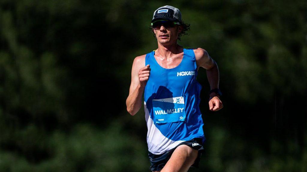 Jim Walmsley a réussi à battre le record du monde du 50 miles mais échoué à battre celui du 100km - Photo : Hoka One One