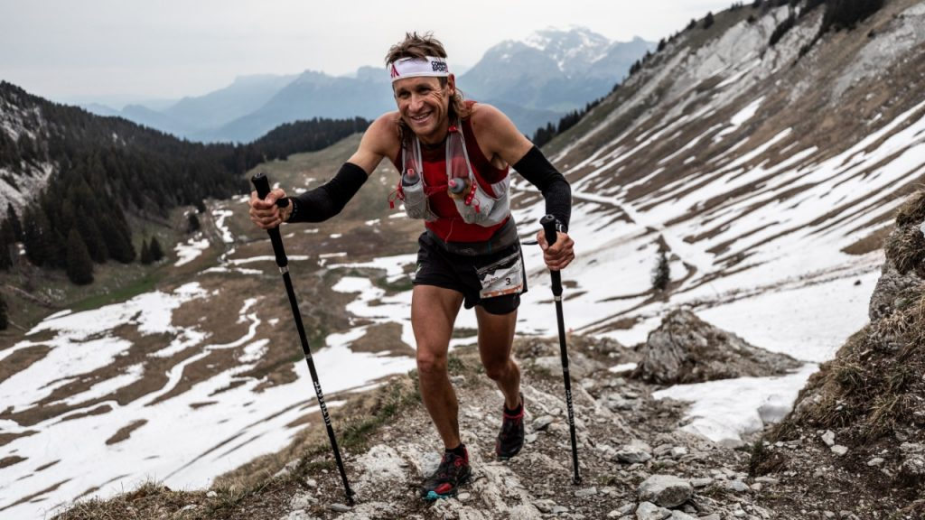 Jason Schlarb à l'Ultra-Race