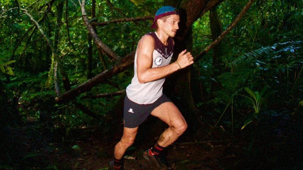 Mathieu Blanchard s'est entraîné dans la jungle en Polynésie française avant de renouer avec la compétition - Photo : Franck Oddoux