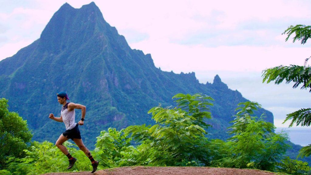 Mathieu Blanchard a passé plusieurs jours en Polynésie française avant de renouer avec la compétition - Photo : Franck Oddoux