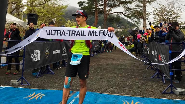 Xavier Thévenard a commencé sa saison de trail par une victoire au Mont-Fuji Japon - Photo : UTMF