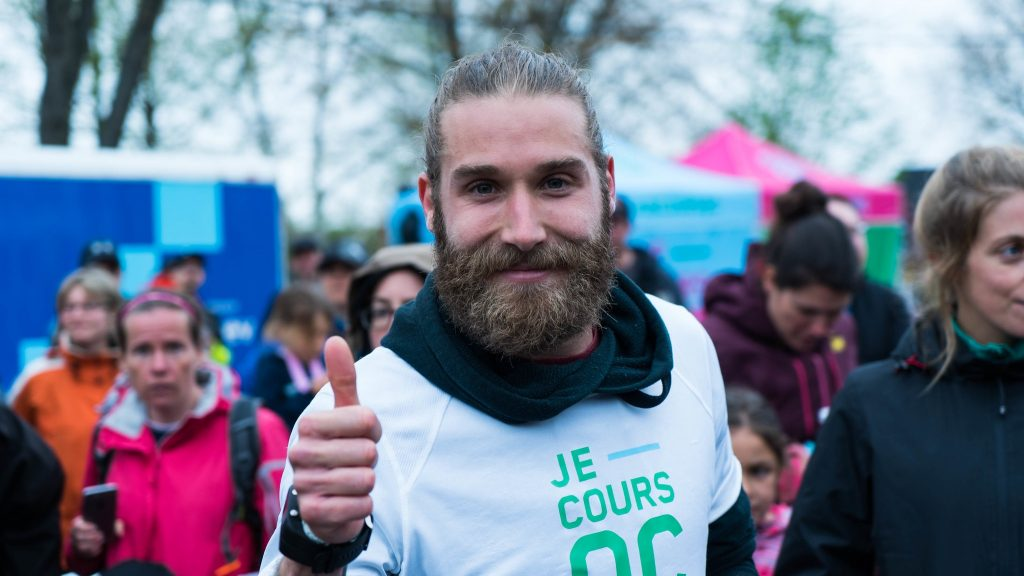 Simon-Pierre Leblanc est ambassadeur du Trail du coureur des bois de Duchesnay - Photo : Je Cours Qc