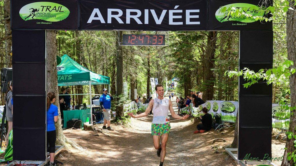 Alexandre a terminé lors du Trail de la Clinique du coureur début juin - Photo : Marc Parrot
