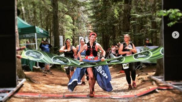 Anne Champagne a gagné le 50 km du Trail de la Clinique du Coureur - Photo : Jean-Mathieu Chénier