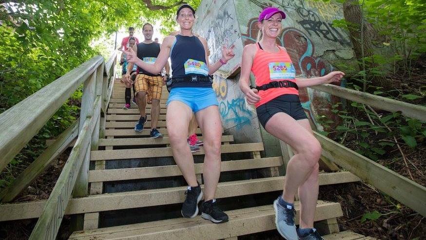 Le Défi escaliers aura lieu le 16 juin 2019 à Québec - Photo: Je Cours QC