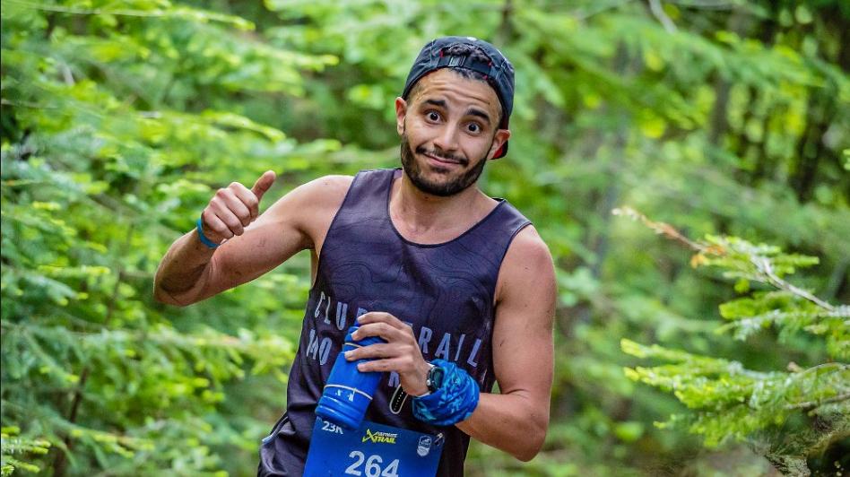 Omar Kaddour Hassimi a été déclaré vainqueur quelques jours après l'épreuve. - Photo : Just Run