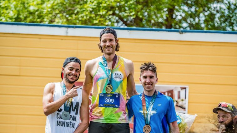 podium 23 km saint-Donat ultimate XC XTrail
